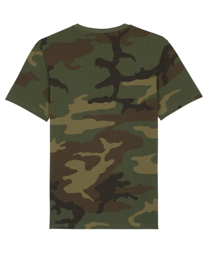 T-shirt Camouflage/Giallo Fluo