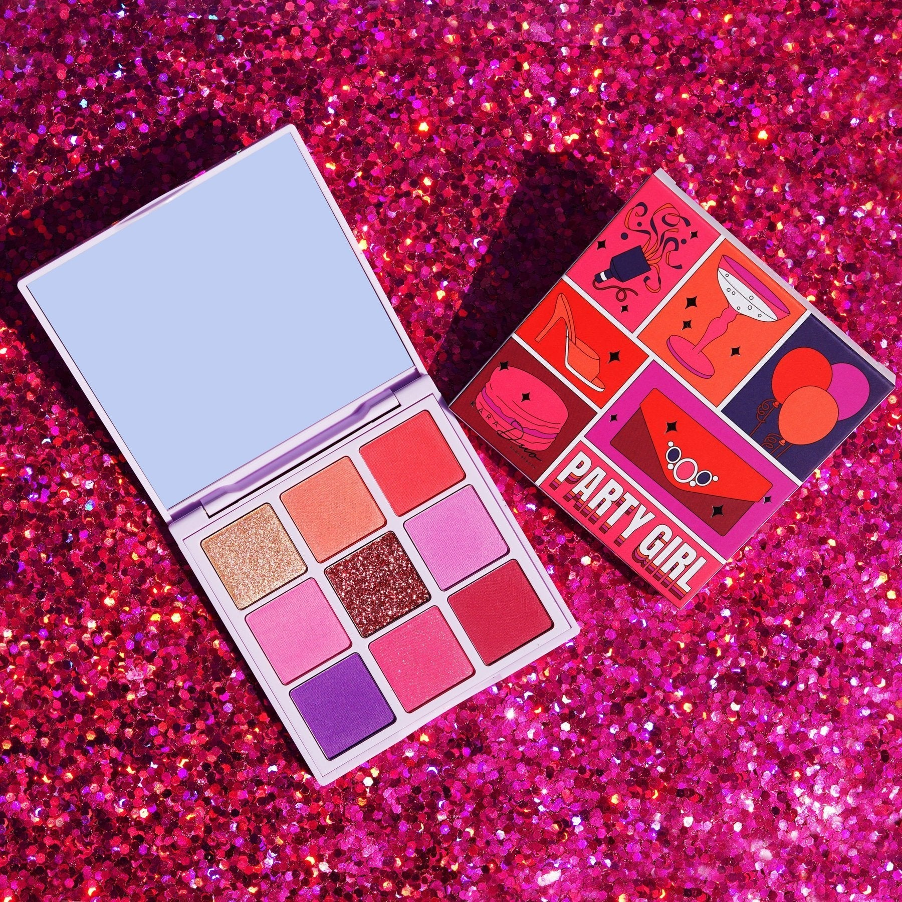 ES125 PARTY GIRL SHADOW PALETTE