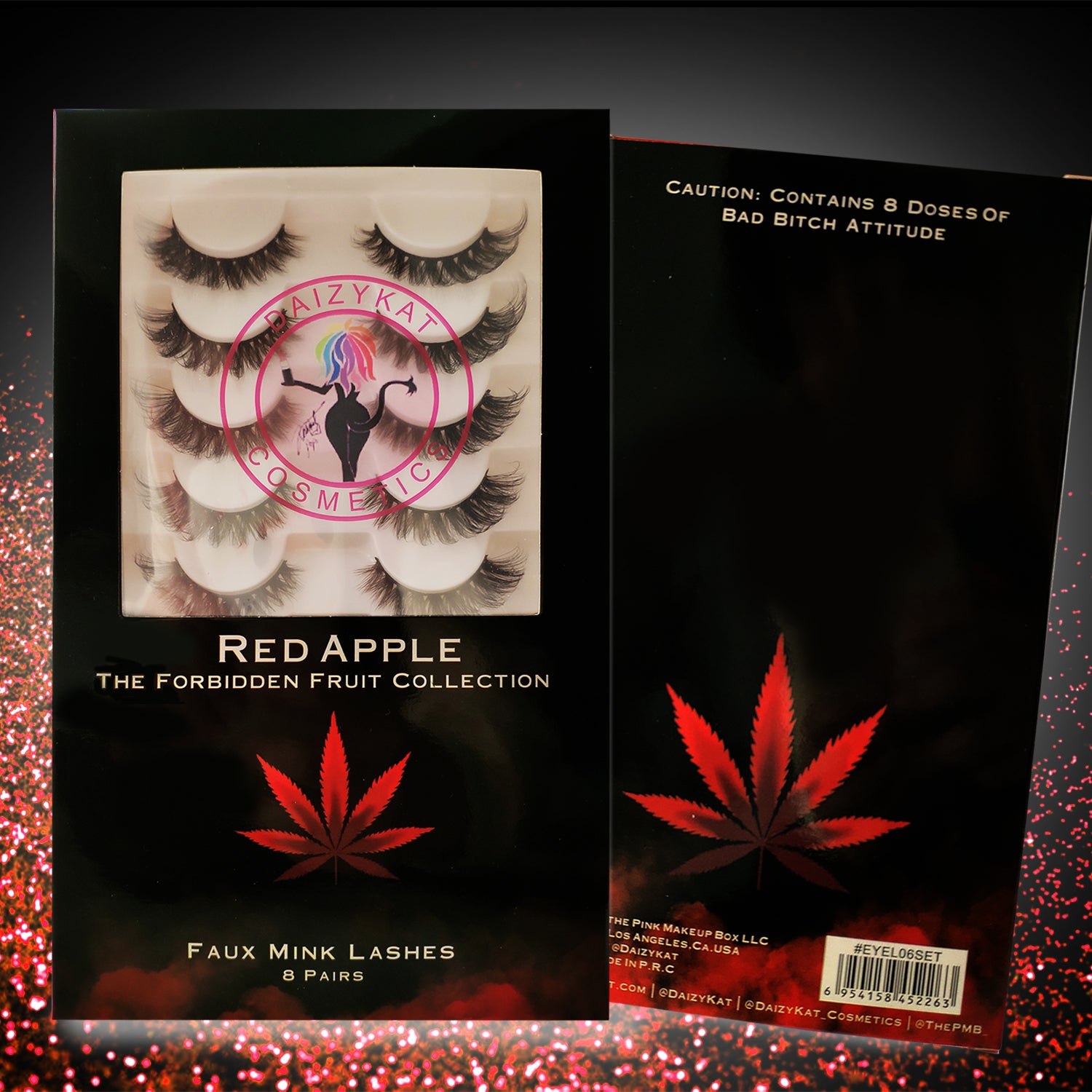 RED APPLE - THE FORBIDDEN FRUIT COLLECTION (8 PAIRS)