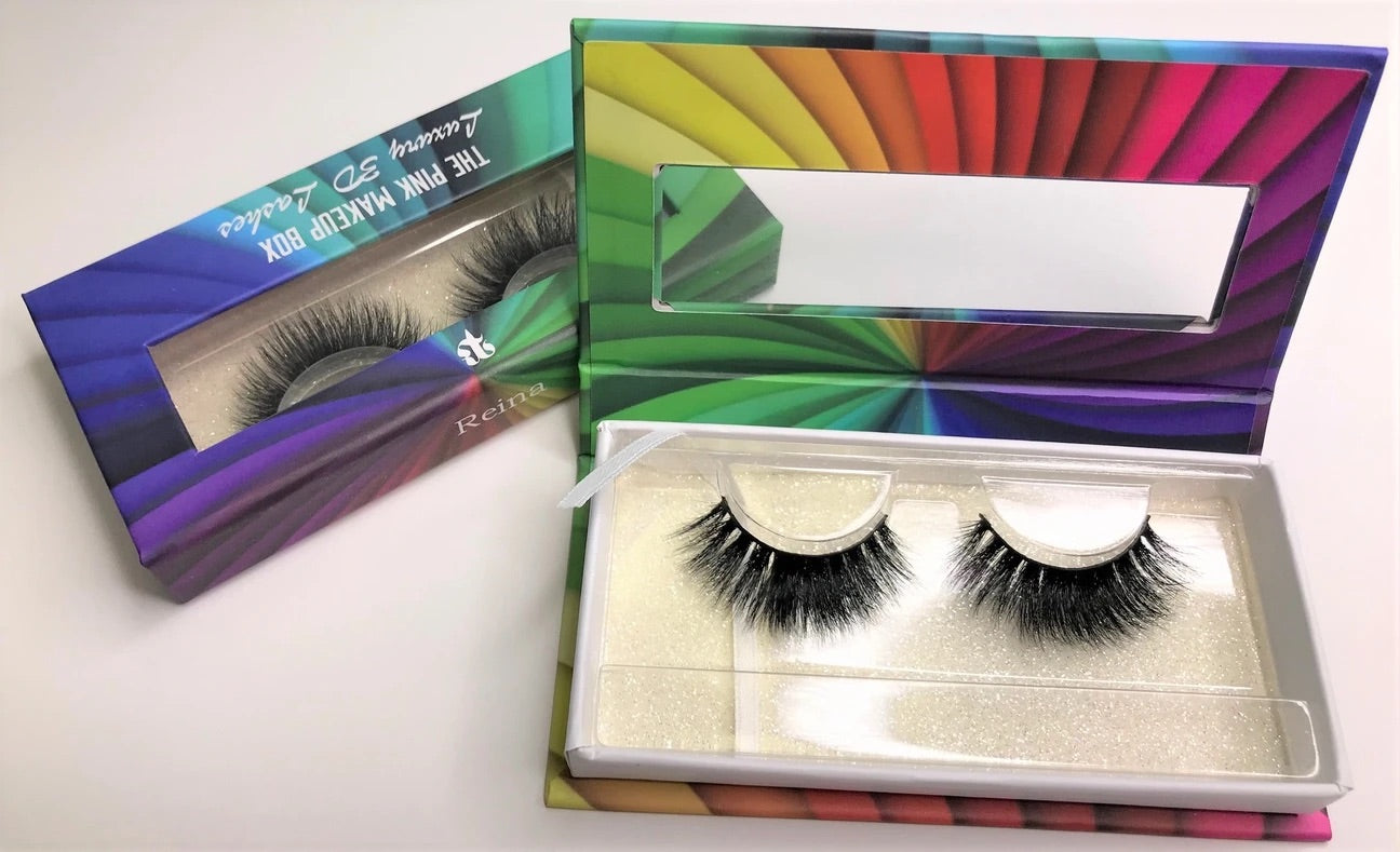 """REINA"" LGBTQ RAINBOW LASH COLLECTION"