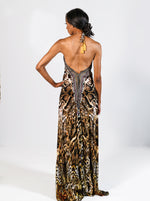 Animal Print Resort Maxi Dress