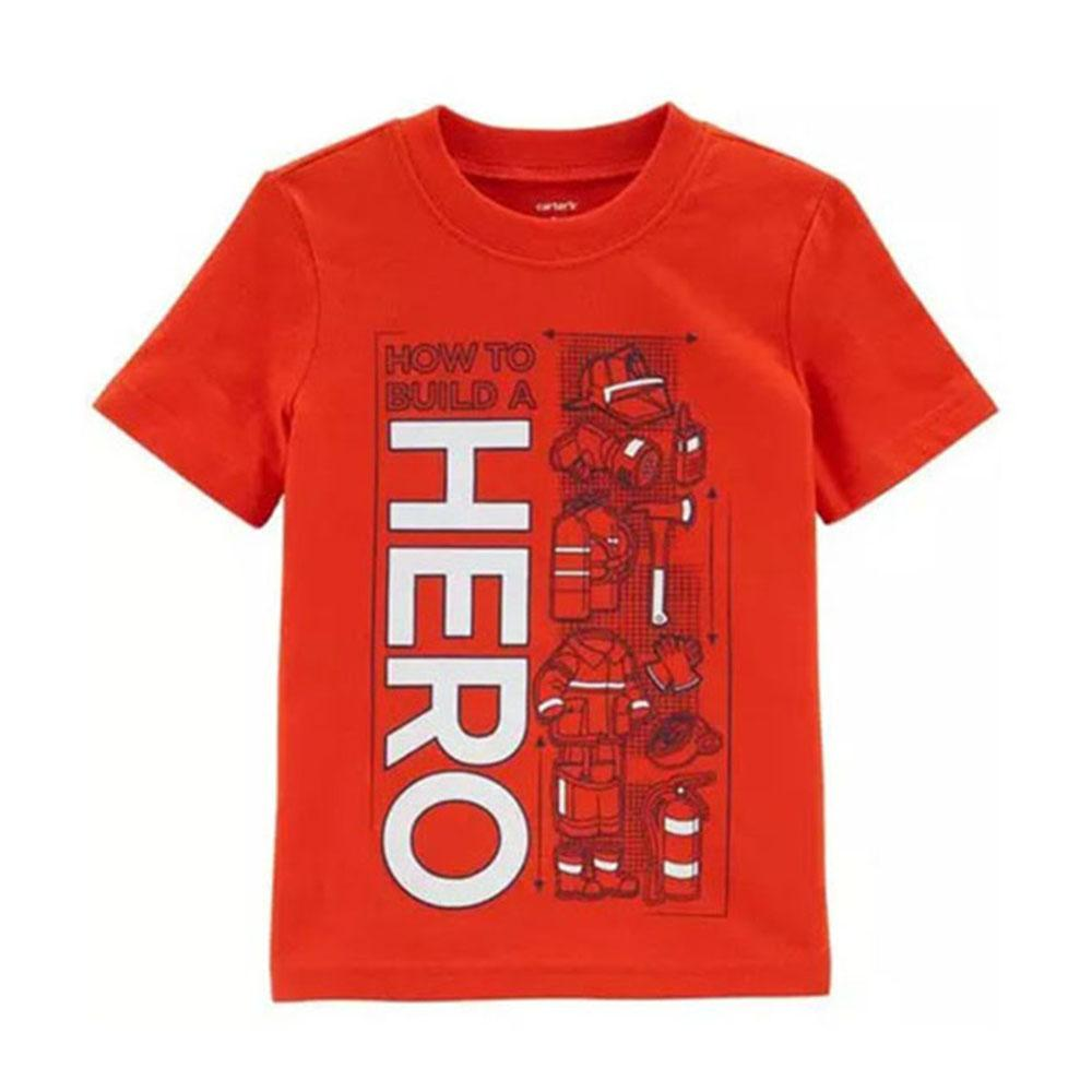 Camiseta Carters Manga Curta Hero