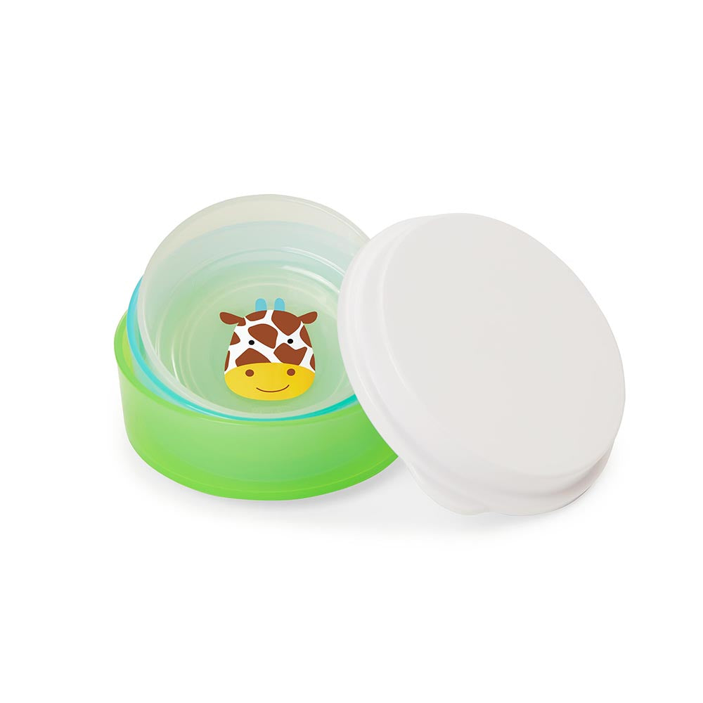 Kit com 3 Tigelas Skip Hop Animal Zoo