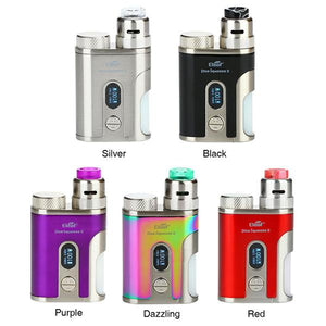 Kit Squonk Pico Squeeze 2 100W avec Coral 2 RDA - Eleaf (Rouge)