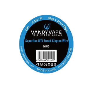 Superfine MTL Fused Clapton NI80 - Vandy Vape