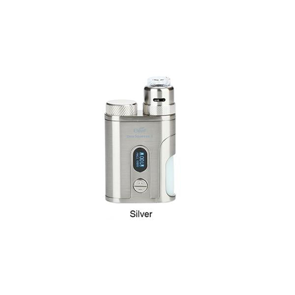 Kit Squonk Pico Squeeze 2 100W avec Coral 2 RDA - Eleaf (Argent)