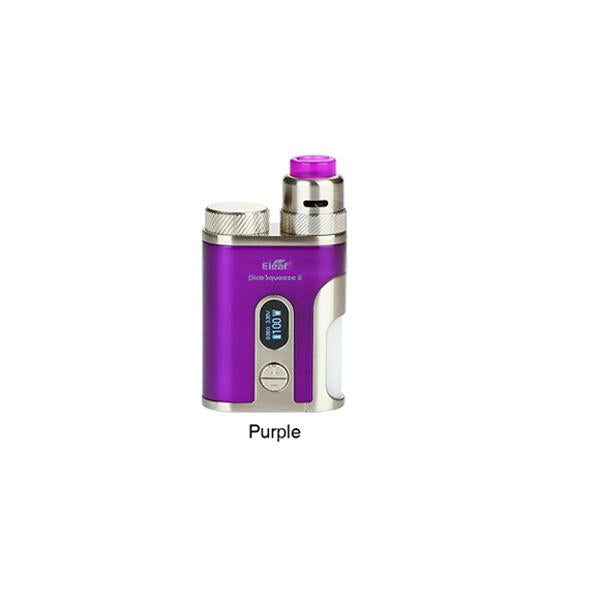KIT SQUONK PICO SQUEEZE 2 100W AVEC CORAL 2 RDA - ELEAF (VIOLET)