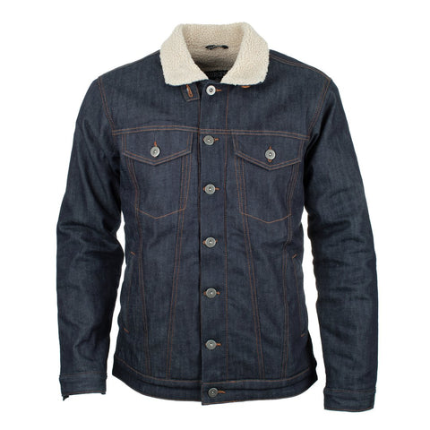 RESURGENCE GEAR SHERPA SELVEDGE DENIM MEN'S JACKET