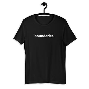 boundaries short-sleeve unisex t-shirt