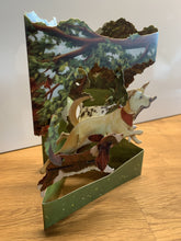 Lade das Bild in den Galerie-Viewer, Grusskarte 3D Swing Card - Dogs In The Park - Oceanshore.ch