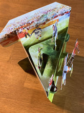 Lade das Bild in den Galerie-Viewer, Grusskarte 3D Swing Card - Football - Oceanshore.ch