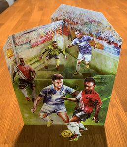 Grusskarte 3D Swing Card - Football - Oceanshore.ch