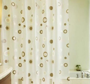 Starfish Waterproof Bathroom Shower Curtain