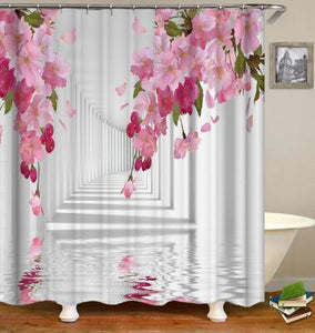 3D HD Digital Printed Curtain