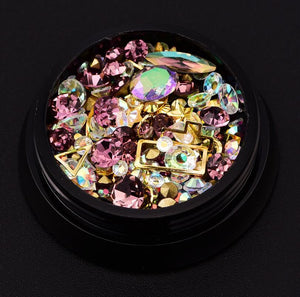 3D Crystal Nail Art Palette