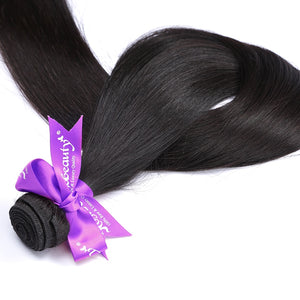 Natural Color Brazilian Hair Weave