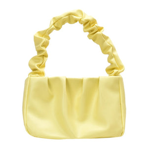 PU Leather Cloud Tote Bag