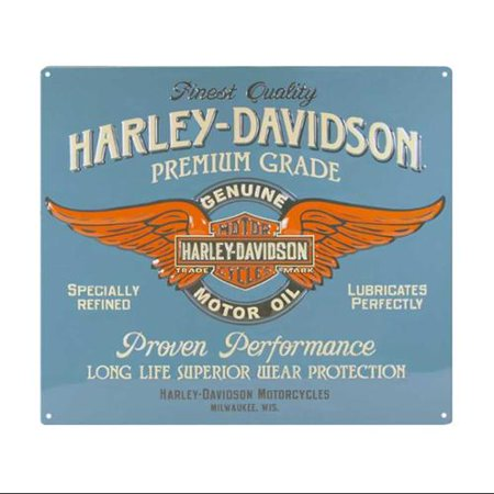 Harley-Davidson® Genuine Duty Winged B&S Tin Sign