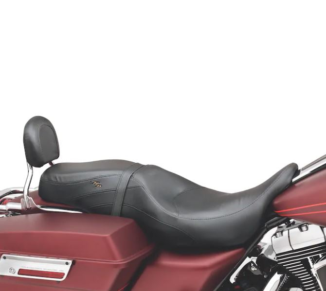 Leather Low-profile Bucket Seat