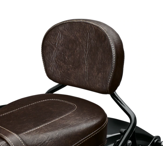Short Passenger Backrest Pad – Mahogany Brown