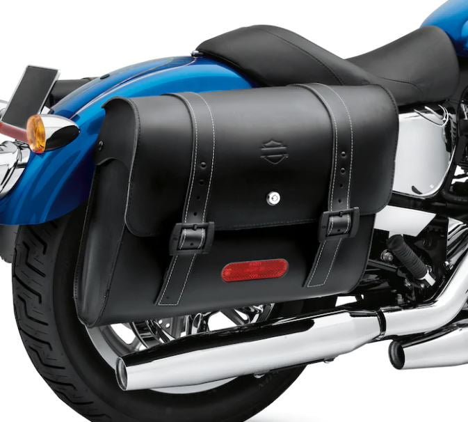H-D® Detachables™ Locking Saddlebags – Synthetic and Genuine Leather