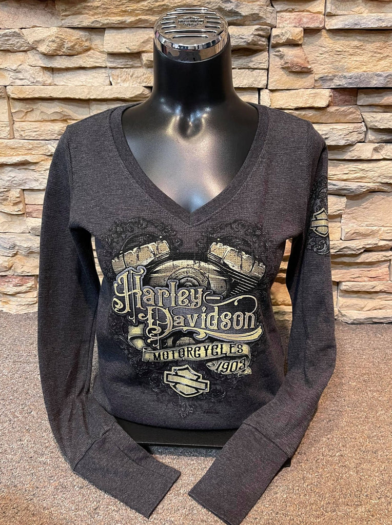 Label Ornate Ladies MPHD Dealership Long Sleeve Shirt