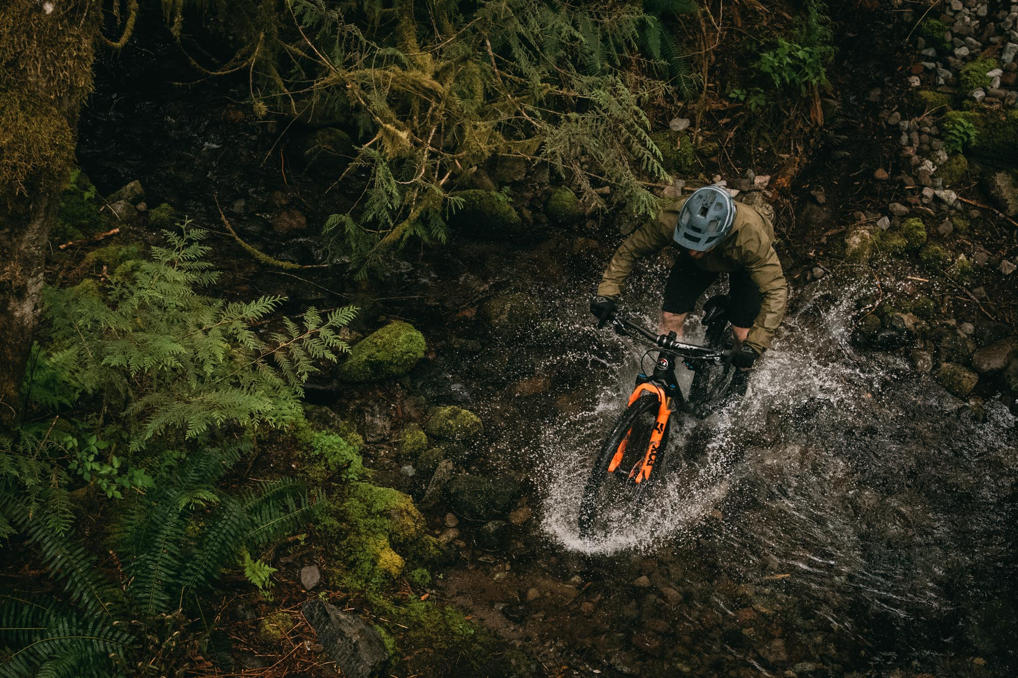 Jesse Melamed rides the Element in Squamish, Canada.