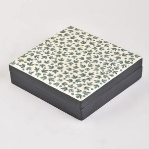 Open image in slideshow, Chinar - Papier Mache Box Green