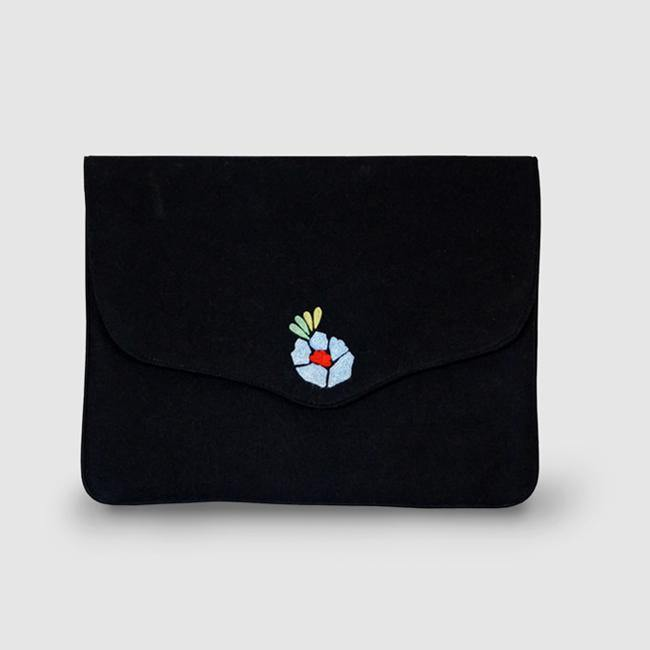 Corsage - Aari Embroidered Laptop Sleeve - Zaina by CtoK