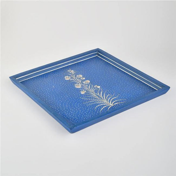 Ticche - Papier Mache Serving Tray - Zaina by CtoK