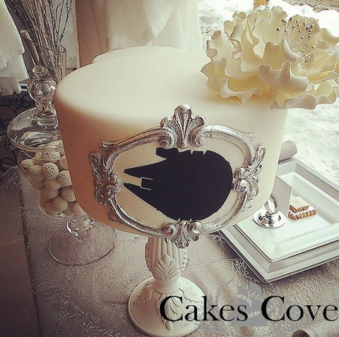Elegant Falcon, Custom Order Only, Cakes Cove - Cakes Cove, cakes, treats, cookies, sweets, traditional wedding cakes, occasion cakes, birthday cakes, cupcakes, chocolates, corprate events, events, weddings, parties, special occasions