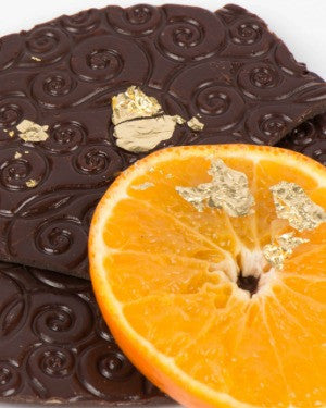 Dark Chocolate Golden Orange Bark