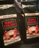 Deadly Grounds Coffee, Assorted, Cakes Cove - Cakes Cove, cakes, treats, cookies, sweets, traditional wedding cakes, occasion cakes, birthday cakes, cupcakes, chocolates, corprate events, events, weddings, parties, special occasions