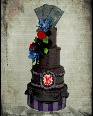 Penny Dreadful, Custom Order Only, Cakes Cove - Cakes Cove, cakes, treats, cookies, sweets, traditional wedding cakes, occasion cakes, birthday cakes, cupcakes, chocolates, corprate events, events, weddings, parties, special occasions