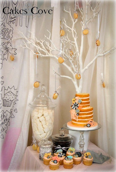 Gloomth Sweet Table, Custom Order Only, Cakes Cove - Cakes Cove, cakes, treats, cookies, sweets, traditional wedding cakes, occasion cakes, birthday cakes, cupcakes, chocolates, corprate events, events, weddings, parties, special occasions