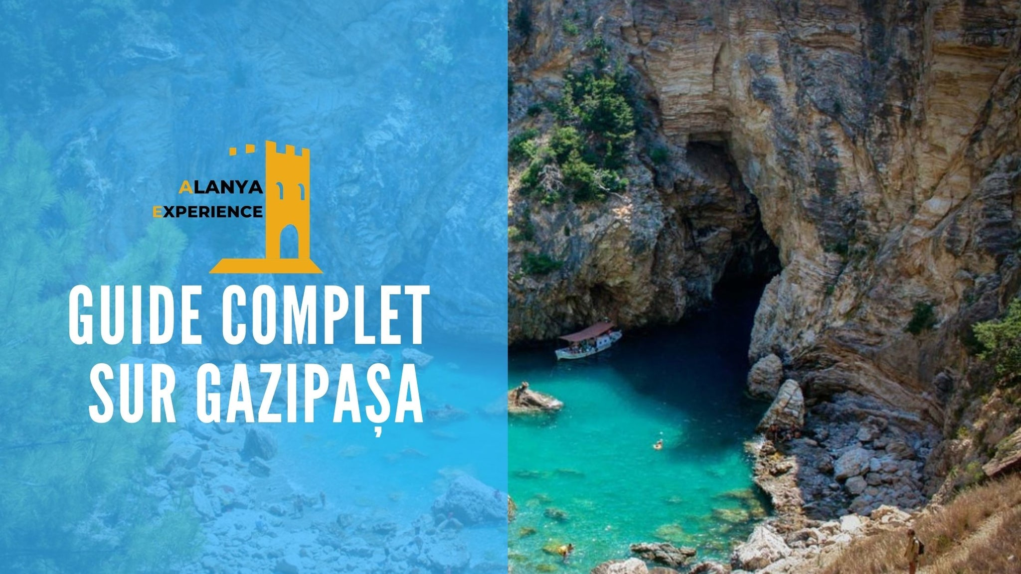 Gazipaşa guide alanya experience crique plage