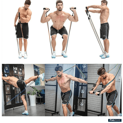 Resistance Band Body Exercise9