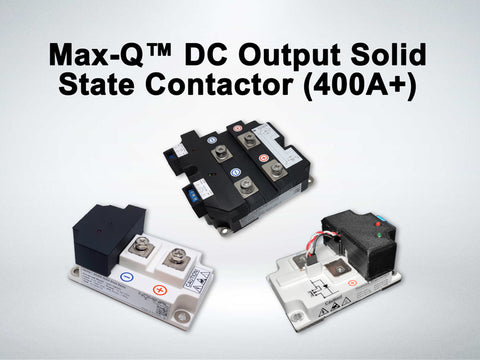 Examples of MAXQ Series DC Solid State Contactors