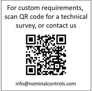 QR Code for M1 Custom Requirements, or Technical Survey