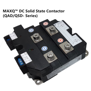 MAXQ DC solid state contactors, QAD/QSD series, switch up to 6000V, 3500A, and 10KHz