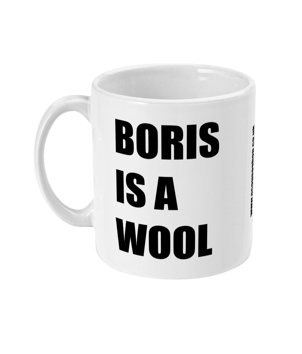 BORIS IS A WOOL - MUG