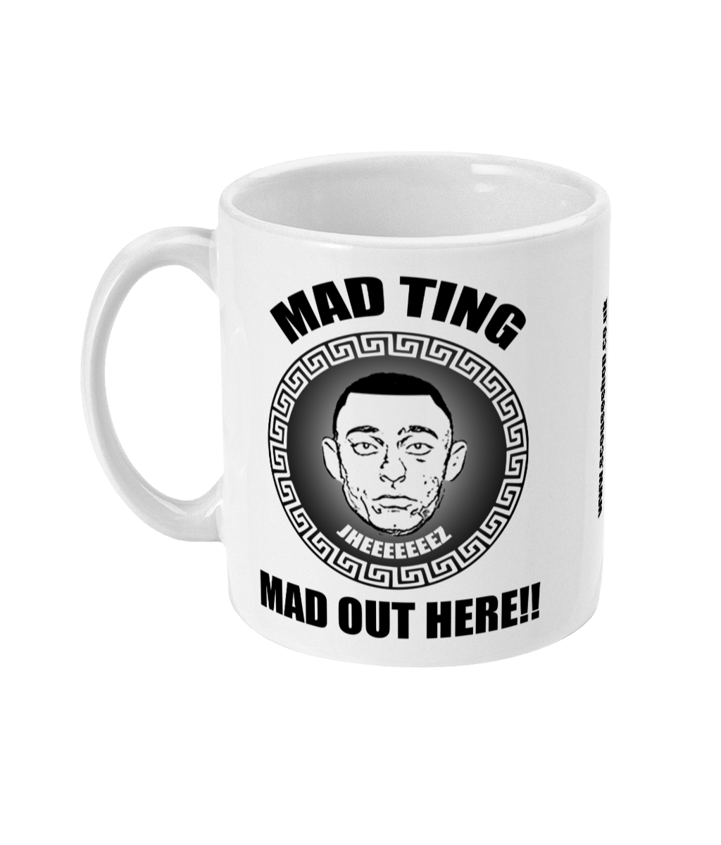 MAD OUT HERE - MUG