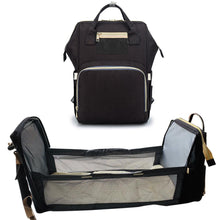 Load image into Gallery viewer, Haute Double Take USB Diaper Bag™