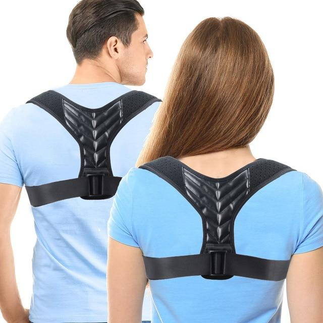 Posture corrector and back brace