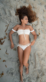 Load image into Gallery viewer, Delilah Top- Cream