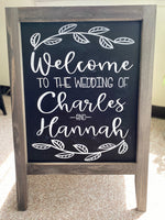 Load image into Gallery viewer, Hand-Lettered Sandwich Board Sign