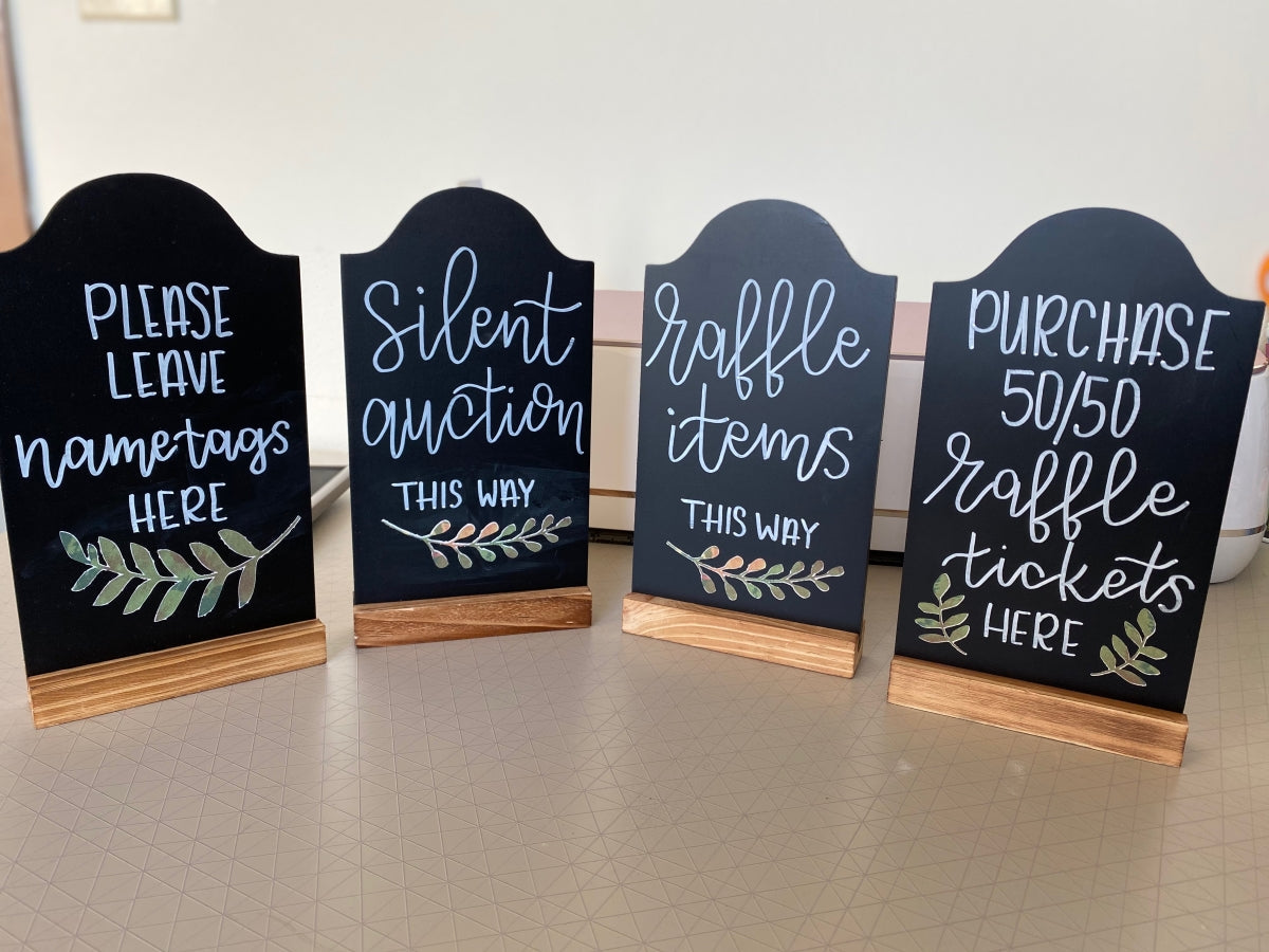 Medium Hand-Lettered Chalkboard Sign