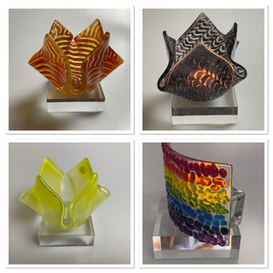 Tea Light Holders / Waves