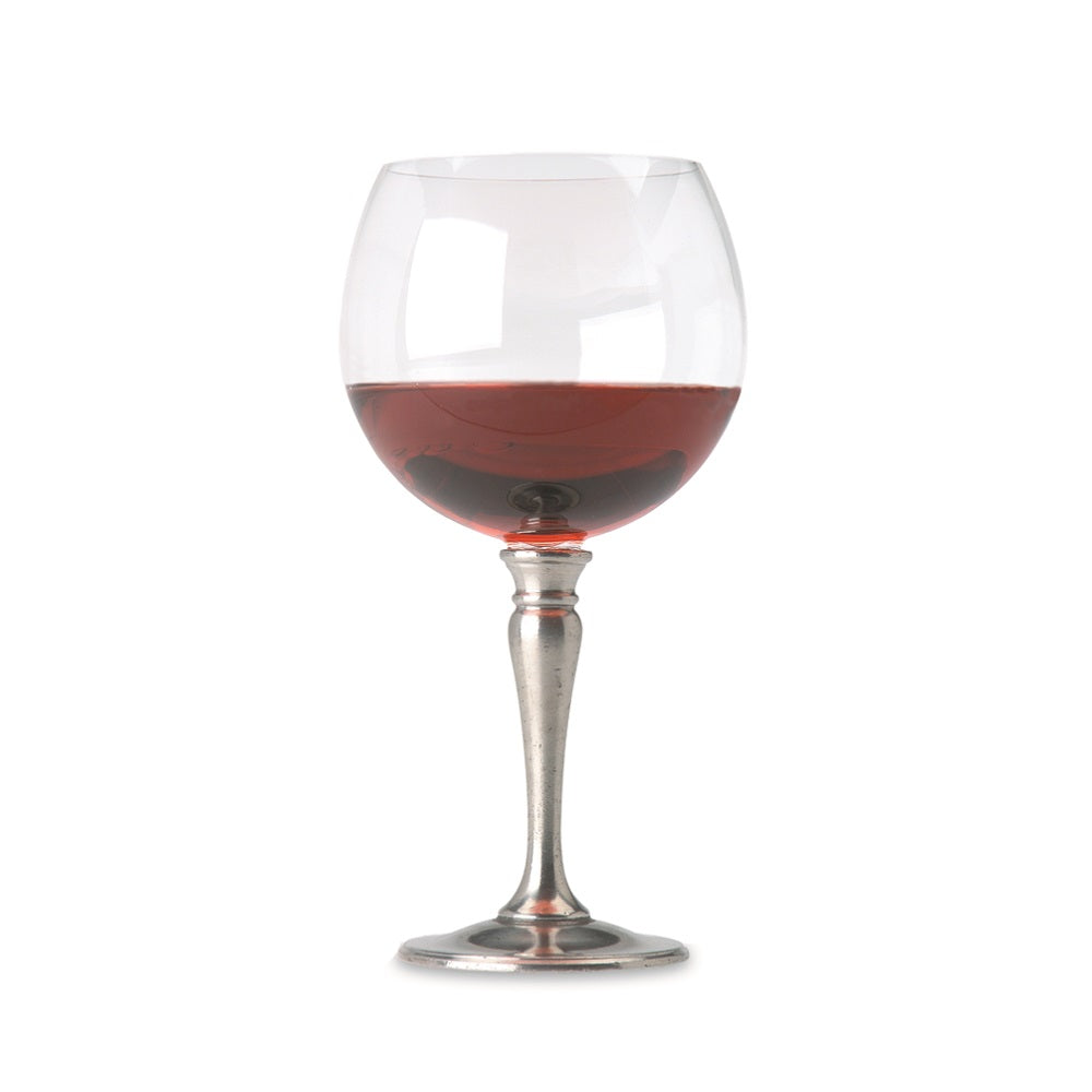 Match Pewter - Classic Stemware - Balloon Wine Glass, Crystal