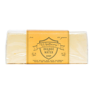 U.S. Apothecary - Orange Water - Triple Milled Bar Soap